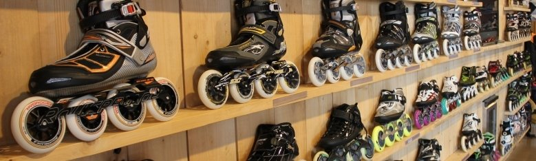 Skates, skeelers voor recreant en wedstrijdrijder
