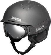 Sinner Combi-Pack (Pincher Skihelm + Runner II Skibril) zwart