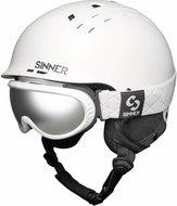 Sinner Combi-Pack (Pincher Skihelm + Runner II Skibril) wit